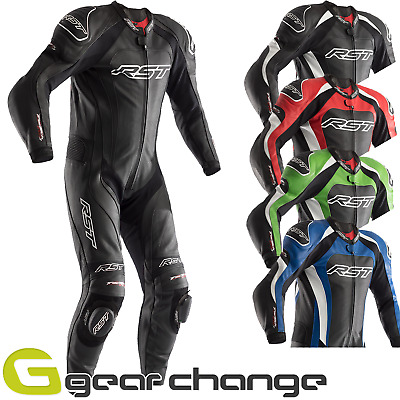 RST Tractech Evo 3 One Piece Leather Riding Motorcycle Suit -CE APPROVED
