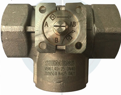 1PC New SIEMENS VBI61.40-25 Threaded Water Pipe Valve