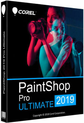 COREL PAINTSHOP PRO 2019, ULTIMATE, WIN 64x-32x Multilanguage + KEY, READ DESCRP