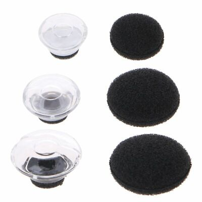 e6f667d22de Soft Silicone Ear Pad Clear Earbuds Foam For Plantronics Voyager Legend  Earphone