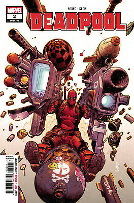 Deadpool #2 (Lgy #302) - 1St Print - Marvel - Bagged And Boarded. Free Uk P+P