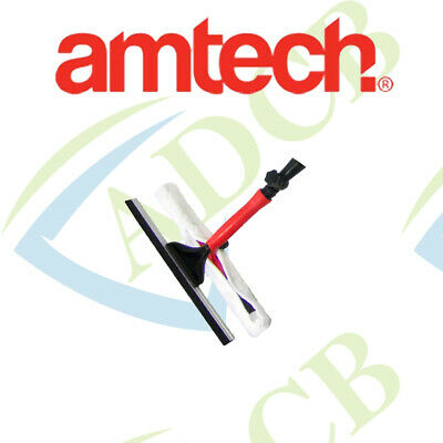 Am-Tech Window Cleaner Brush Head - Attach to Pole