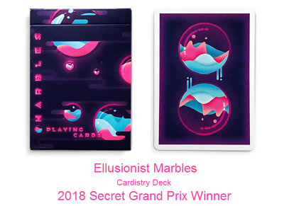 Ellusionist Marbles Playing Cards Secrete Cardistry Deck not Bicycle !!!