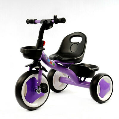 358cf85f78a Kids Trike Tricycle 3 Wheels Smart Toddler Ride On Scooter Safety Children  Toys