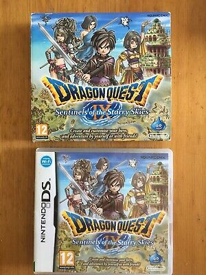 Dragon Quest IX 6 - Nintendo DS - Box Only (RARE COVER SLEEVE)