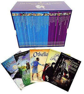 The Usborne Reading Collection 40 Books Box Set Series - NEW