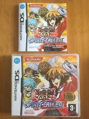 Yu-Gi-Oh - Spirit Caller - Nintendo DS - Box And Manual Only