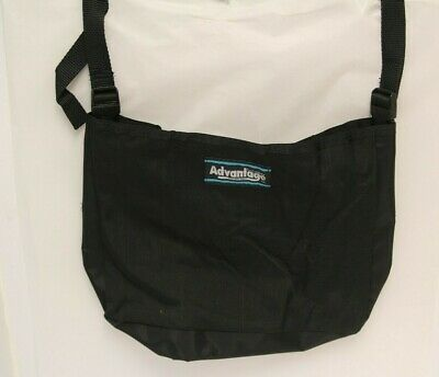"""Advantage Bag Co. """"Just A Sac"""" Open Backpack for Wheelchair Black USA"""
