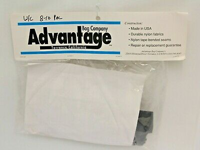 Advantage Bag Co. Wheelchair Under Seat Pac WH810 Eight-Ten Pac Black Made in US