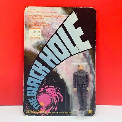 The Black Hole action figure toy 1979 mego disney MOC unpunched Dr Harry Booth
