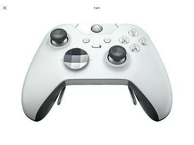 Microsoft Xbox One Elite Wireless Gaming Controller - WHITE HM3-00012 SPECIAL ED