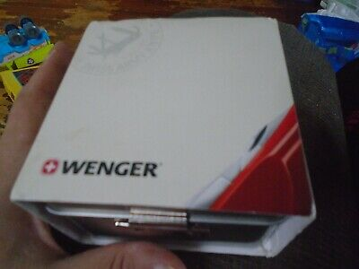 RARE Wenger Coca Cola Employee Watch for 20 years of service New RARE!!