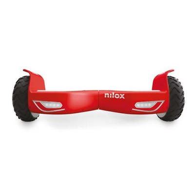 Nilox DOC 2 hoverboard 10 km/h Rosso Nero 4300 mAh 30NXBK65NWN07
