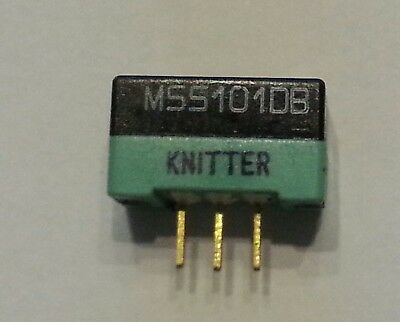 1 pc.  Knitter Schiebeschalter MSS101DB  2 Stellungen  SPDT  ON-ON   NEW  #BP