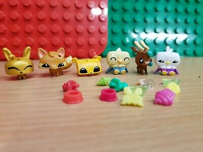 5 ANIMAL JAM Adopt-A-Pet Series 1 Figures with online codes - £7 75
