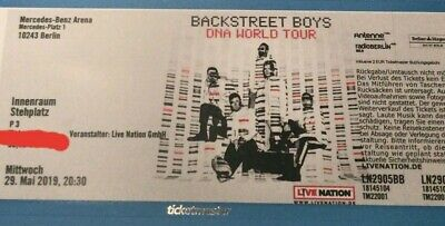 Backstreet Boys 1 Ticket 29.05.19 Berlin