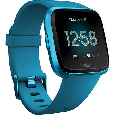 Fitbit Versa Lite Edition Activity Tracker Fb415Bubu Marina Blue