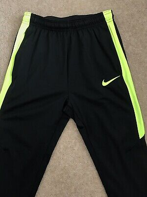cheap for discount 37f3d c530f Boys Nike Black Dri-Fit Tracksuit Bottoms Joggers Size Age 12-13 Years Black