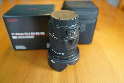 SIGMA 17-50mm F2.8 EX DC OS HSM (CANON FIT) LENS