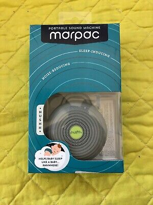 Marpac Portable Sound Machine Hush Helps Baby Sleep New In box