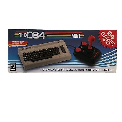 The C64 Mini Retro Gaming Console - 64 Games Included -Sealed