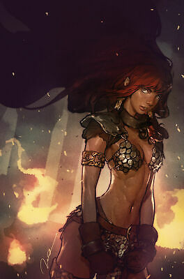 Red Sonja Birth Of The She-Devil #1 Virgin Variant By Gerald Parel Comic