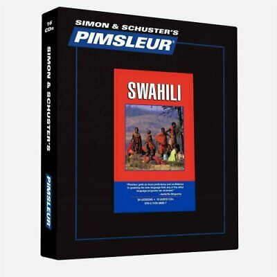 Pimsleur Swahili Level 1 CD Learn to Speak and Understand Swahi... 9780743598897