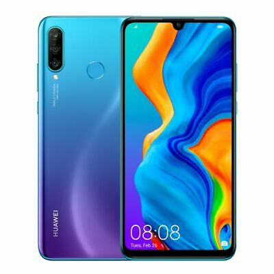 Huawei P30 Lite 128GB 6GB RAM Dual SIM Peacock Blue (Unlocked) *LARGER RAM*