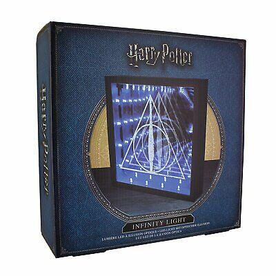 Merchandising Harry Potter: Deathly Hallows Infinity Light (Lampada)