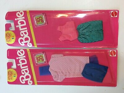 1990 Barbie fashion finds nip #2615 and #2612 Mattel not opened