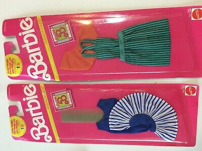 1990 Barbie fashion finds nip #5304 and #2614 Mattel not opened