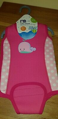 Mothercare Little Paddlers 6-12 Mths 50+ Uvpf Sun Protection NEW Wet Suit