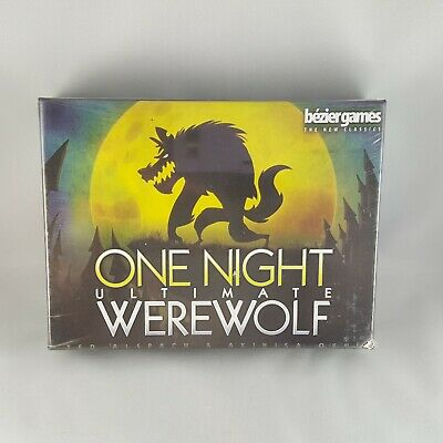 Beizier Games One Night Ultimate WereWolf Game Brand New Factory Sealed