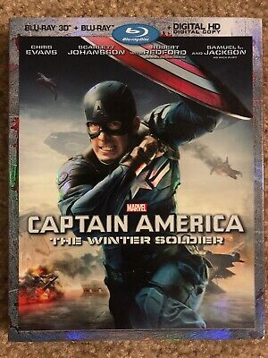 Captain America: The Winter Soldier (3D Blu-ray Disc, 2014