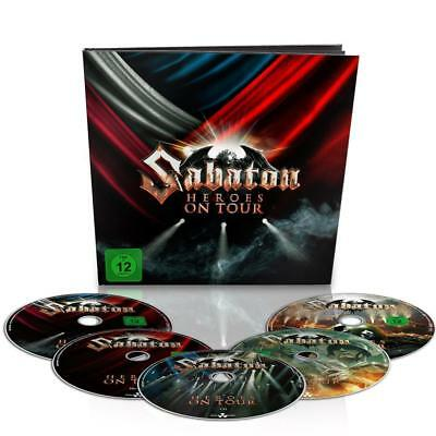 Sabaton - HEROES ON TOUR 2x DVD / 2x BLU-RAY + CD 36-page earbook NEW