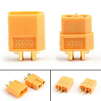 XT60 Male+Female Bullet Connectors Plugs Converter For RC Lipo Battery