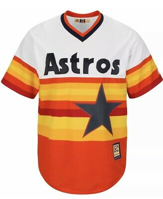 finest selection e4354 98031 NWT MAJESTIC MLB Cooperstown Throwback Houston Astros Jersey Youth Size  Large 14