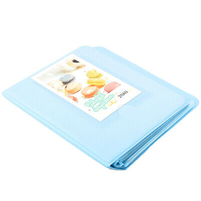 Blue 64 Pockets Photo Album for Instax Polaroid Fuji Film Camera 7 8 90
