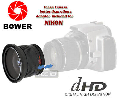 Wide Angle Fisheye Lens For Nikon D70 D70S D60 D80