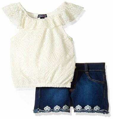 Limited Too Girls' Fashion Top Short Set 6x