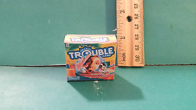 Barbie Doll 1:6 Furniture Handmade Miniature Game for Tommy or Kelly TROUBLE