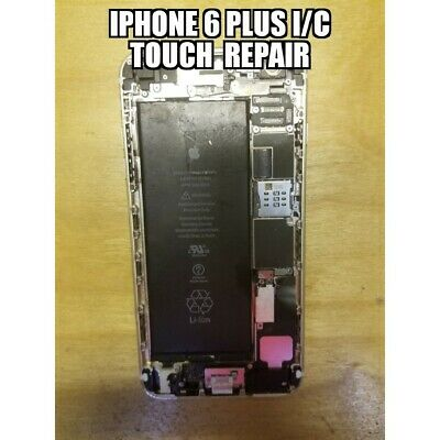 Repair Service For iPhone 6 Plus Touch IC Disease no touch and grey bars