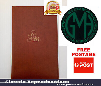 """May Special"" HD HR HK HT HG Holden Glovebox Folder and Battery Decal"