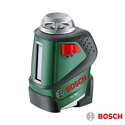 Bosch 360° Plane Laser PLL 360 Kit with Tripod 20m Range 0.4 mm/m AU Stock