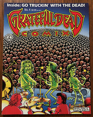 GRATEFUL DEAD COMIX #4 Mexicali Blues JERRY GARCIA Kitchen Sink Comic Book 1992