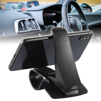 Car Dashboard Phone Clip Holder Mount Stand Cradle HUD Design-esfranki Universal