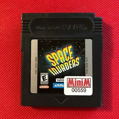 Space Invaders (Nintendo Game Boy, 1994) (Game Only) (VG)