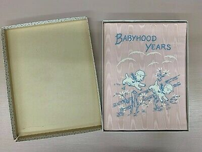 Vintage NOS Baby's First 5 Years Memory Book Pink Girl