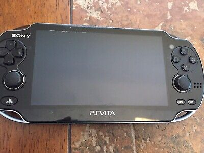 """Sony PS Vita PCH-1104 Wi-Fi + 3G  5"""" OLED Touchscreen Crystal (READ) (ISSUE)"""