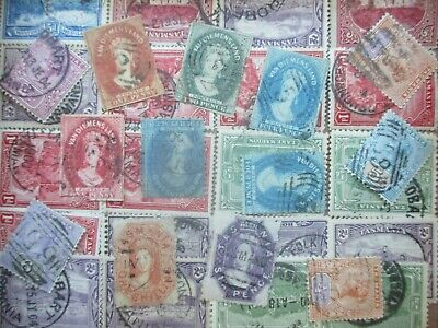 ESTATE: Tasmania in box unchecked unsorted as received heaps  (s449)